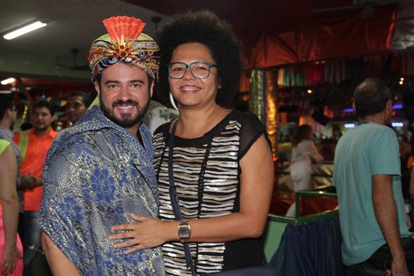 Léo Silva e Lala K - Crédito: Roberto Ramos/DP DA Press