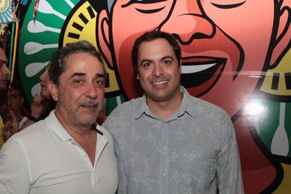 Guilherme Machado e Paulo Câmara. Credito: Nando Chiappetta/DP/ D. A Press.