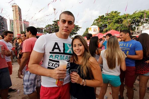 Camila Guarana e Higor Kyrillos