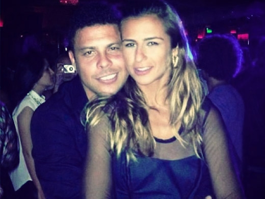 Ronaldo Fenômeno e a DJ Paula Morais - Crédito: Reprodução do Instagram