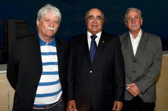 Arthur Carvalho,Eduardo Paurá e Antonio Jaime - Crédito Cristiane Silva/Esp.DP/D.A Press