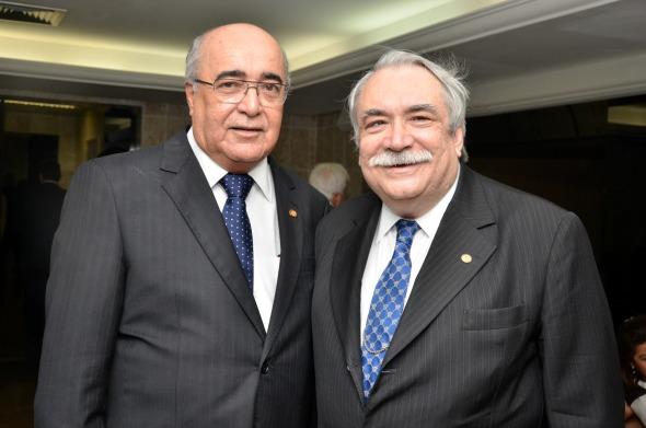 Eduardo Paurá e Jones Figueirêdo - Crédito Cristiane Silva/Esp.DP/D.A Press