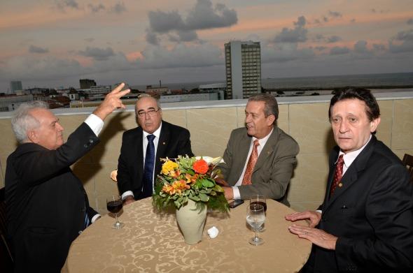 Maviael Cavalcante,Eduardo Parua,Itabira Brito, Francisco Tenório - Crédito Cristiane Silva/Esp.DP/D.A Press