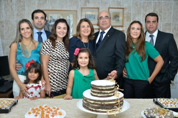 Eduardo Paurá com a família - Crédito Cristiane Silva/Esp.DP/D.A Press
