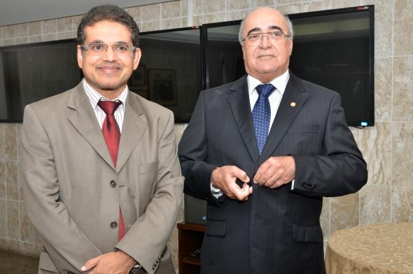 Flávio Fontes e Eduardo Paurá - Crédito Cristiane Silva/Esp.DP/D.A Press