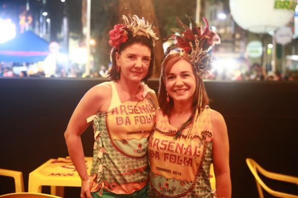 Franciele Cunha e Katia Cunha - Crédito: Bernardo Dantas/DP/D.A Press -