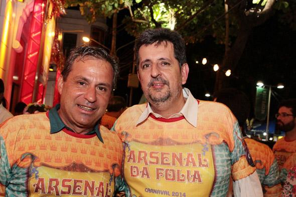 Tadeu Alencar e Marcelo Canuto - Crédito: Nando Chiappetta/DP/D.A Press