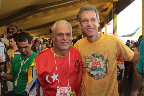 Sergio Leite e o ministro  Arthur Chioco - Credito: Annaclarice Almeida/DP/D.A Press