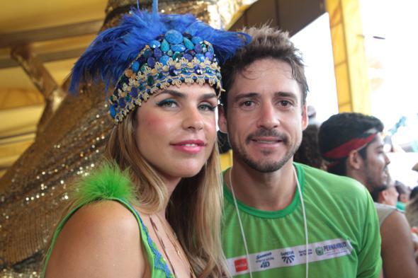 Dani Ribeiro e Guilherme Menezes - Credito: Annaclarice Almeida/DP/D.A Press