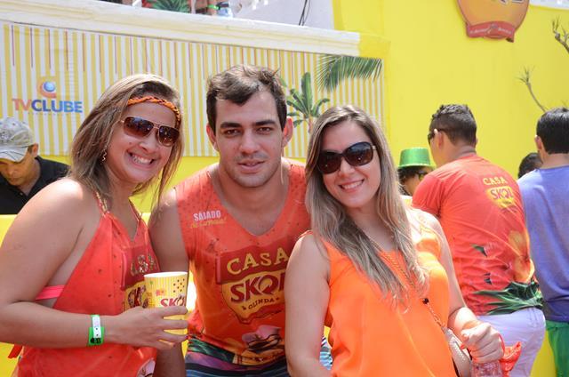 Janaina Rodrigues, Fabio Sitcovsky e Rosana Lima Crédito: Cristiane Silva/DP/D.A Press