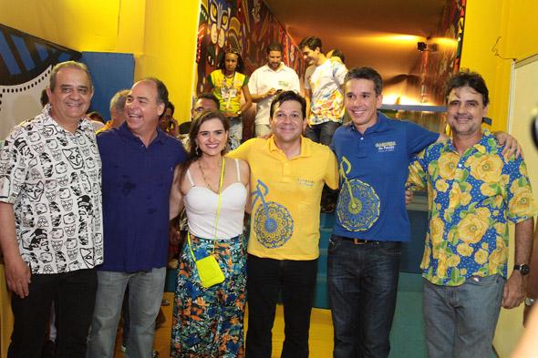 Aluísio Lessa,Fernando Bezerra Coelho,Marília Campos, Geraldo Julio, Felipe Carreras e Raul Henry - Crédito: Nando Chiappetta/DP/D.A Press