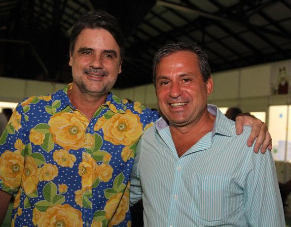 Raul Henry e Tadeu Alencar - Crédito: Nando Chiappetta/DP/D.A Press