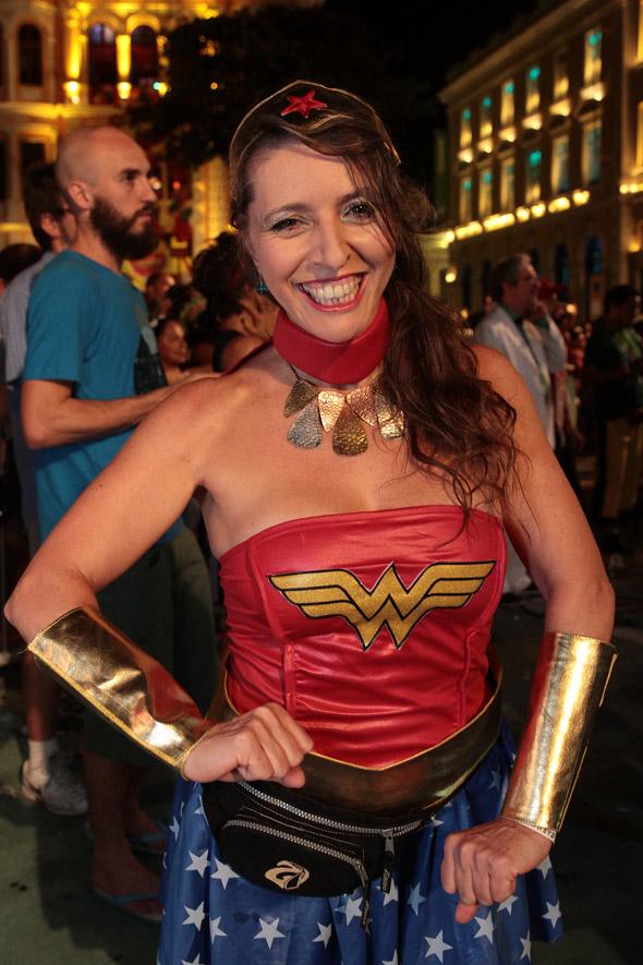 Rosane Almeida , esposa de Antônio Nóbrega, dançou muito  - Crédito: Nando Chiappetta/DP/D.A Press