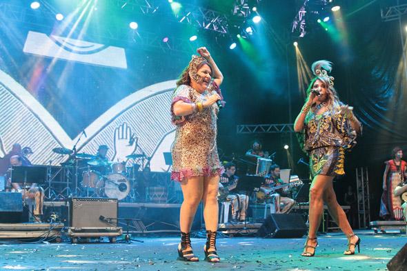 Nena Queiroga e Elba Ramalho - Crédito: Nando Chiappetta/DP/D.A Press