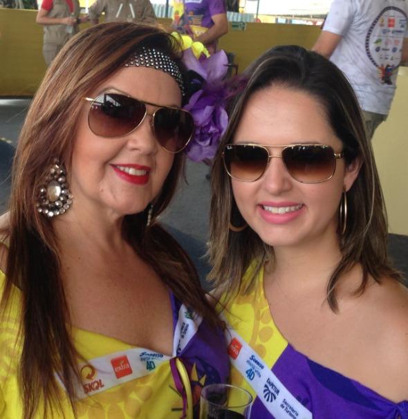 Sheyla e Ana Luiza Wanderley - Crédito: Breno Vieira/Divulgação