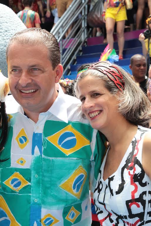 Eduardo e Renata Campos- Crédito: Thayse Boldrini/DP/D.A Press