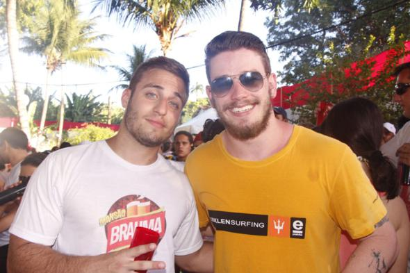 Flávio Menelau e Paulo Jagelski. Crédito: Aryela Lira / Divulgação