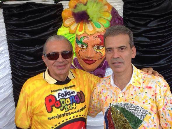 Inocêncio Oliveira e Alberto Feitosa