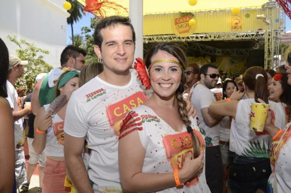 Rodrigo Poggi e Yacy Ribeiro Crédito: Cristiane Silva/DP/D.A Press