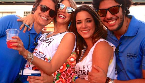 Victor Carvalheira, Eduarda Dubeux, Isabele Leite e José Pinteiro Crédito: Gleyson Ramos e Mari Patriota