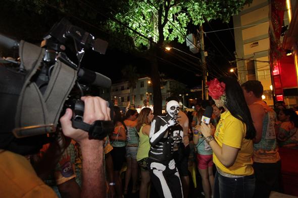 Joinha fez sucesso por lá - Crédito: Roberto Ramos/DP/D.A