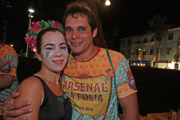 Isabel e Gustavo Nascimento - Crédito: Roberto Ramos/DP/D.A
