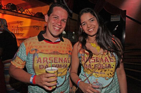 Erick Lopes e Mariana Marcelos - Crédito: Roberto Ramos/DP/D.A