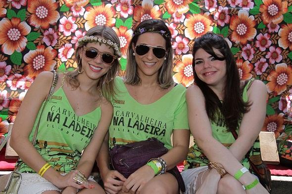 Duda Dubeux, Livia Rolin e Fernanda Dubeux - Crédito: Gleyson Ramos/Divulgação