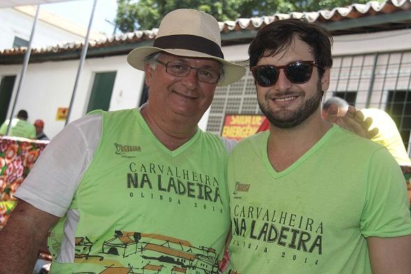 Paulo e Rodrigo Carvalheira - Crédito: Gleyson Ramos/Divulgação