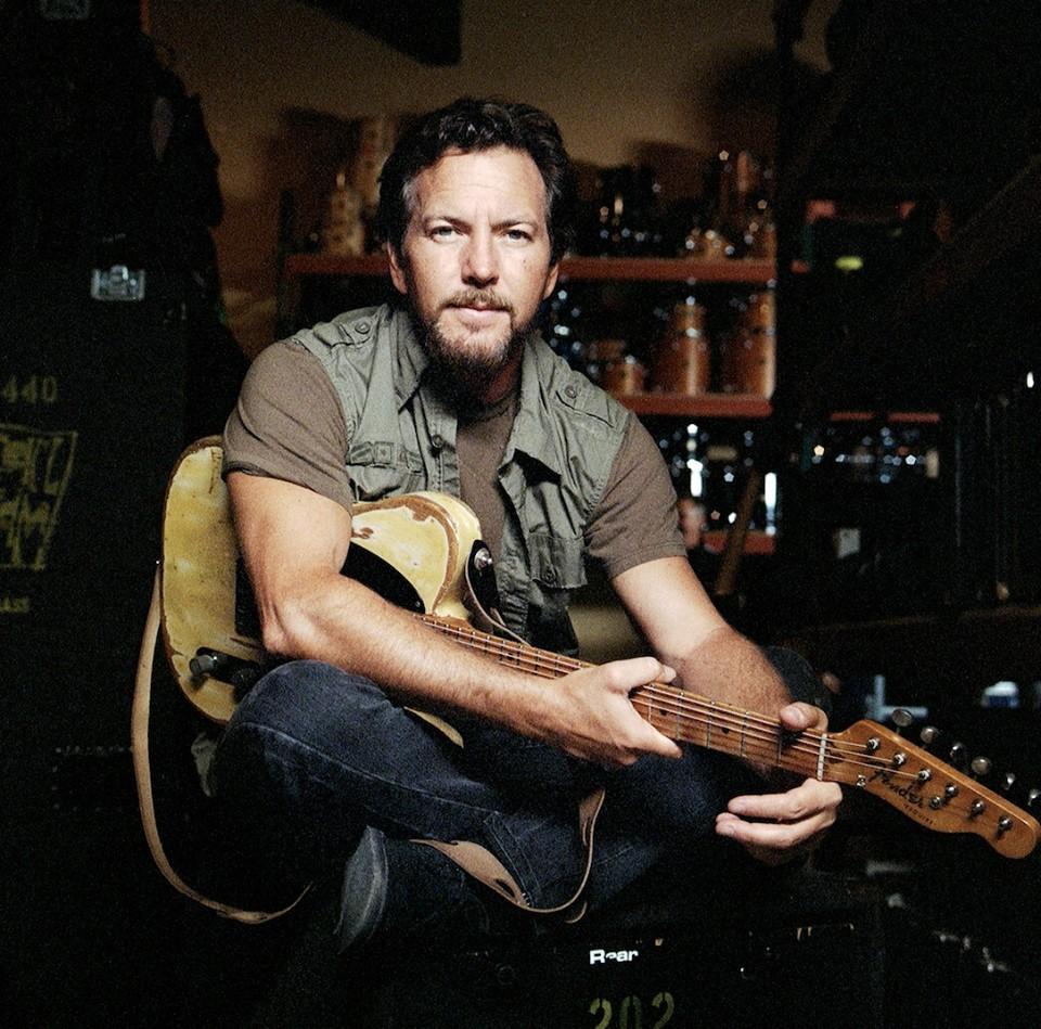 Eddie Vedder - Crédito: Reprodução Facebook