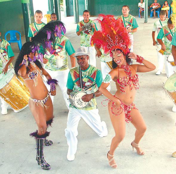 Gigantes do Samba/Foto Arthur de Souza/DP