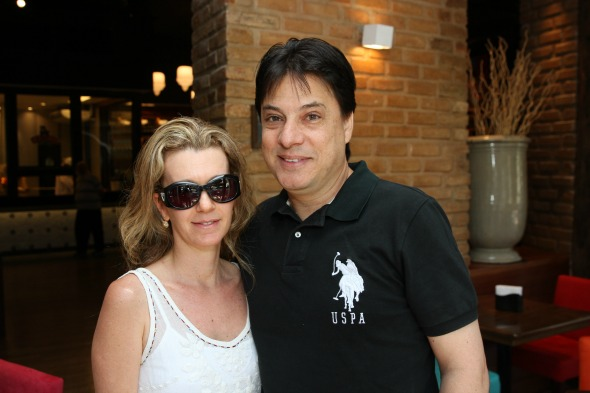 Patricia Guerra e Jorge Romaguera - Crédito: Julio Jacobina/DP/D.A Press