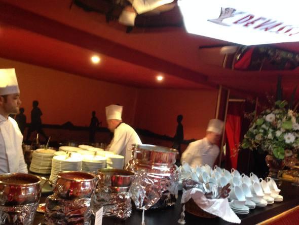 O restaurante do Fasano