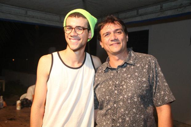 Luis Felipe e Pepe Jordão Crédito: Maquina3/ Vagalume Comunicação