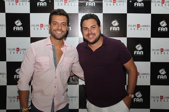 Thiago Ferraz e Felipe Paparazzi - Crédito: Diogénes Leite/Divulgação