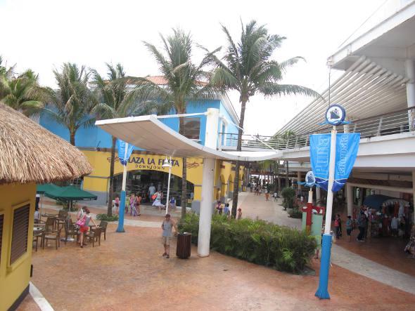 Shopping no centro da cidade