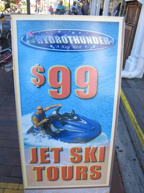 Passeios de Jet ski