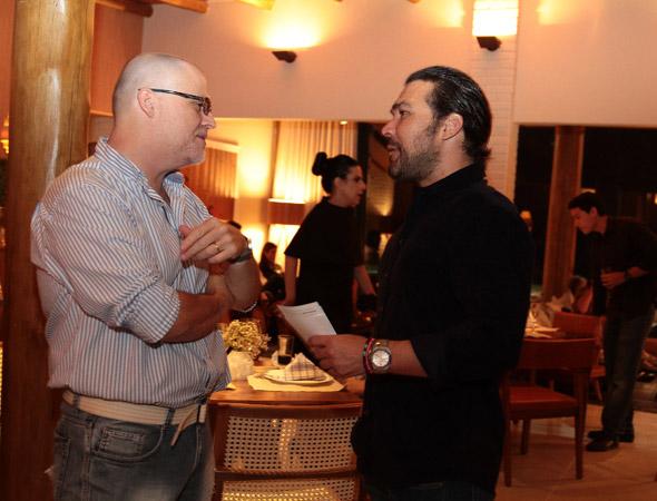 Duca Lapenda e José Paulo Cavalcanti Filho - Crédito: Nando Chiappetta/DP/D.A Press
