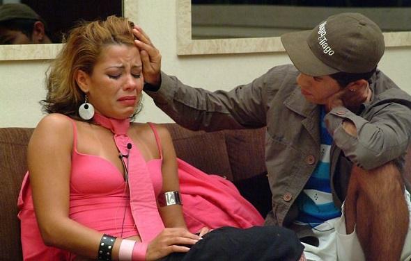 Pink e Jean eram muito amigos no BBB - Crédito: TV Globo/Divulgação
