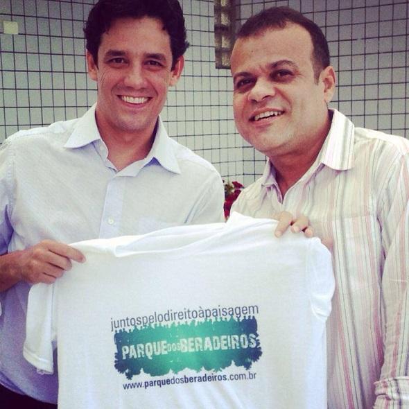 Daniel Coelho e o ex-BBB devem fazer dobradinha nas eleições - Crédito: Reprodução Facebook