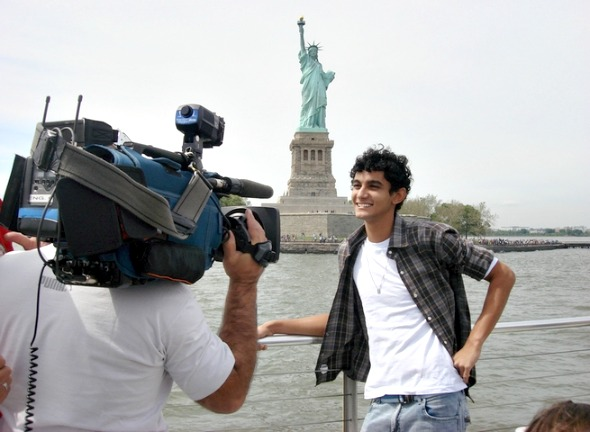 Rodrigo Solano em viagem realizada durante a participação no Aprendiz Universitário - Crédito: Arquivo pessoal