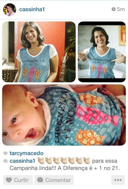 Renata Campos e Cristina Mello foram presenteadas pela fotógrafa Andréa Rêgo Barros - Crédito: Reprodução do Instagram