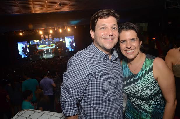 Geraldo Julio e Cristina Mello - Crédito: João Vitor Alves