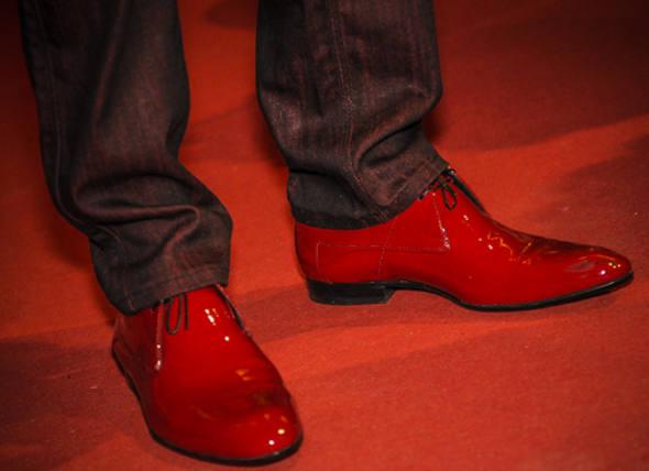 Sapato Louis Vuitton de Janguiê/Foto Nando Chiappetta