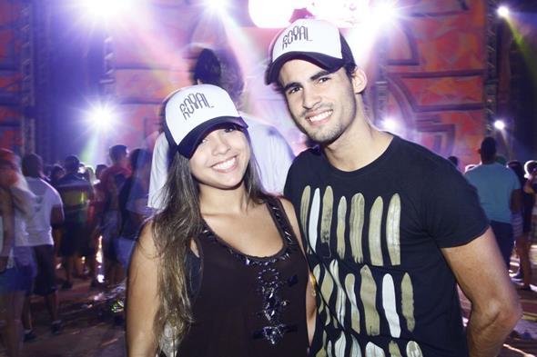 Adriane Liberal e Raul Queiroz