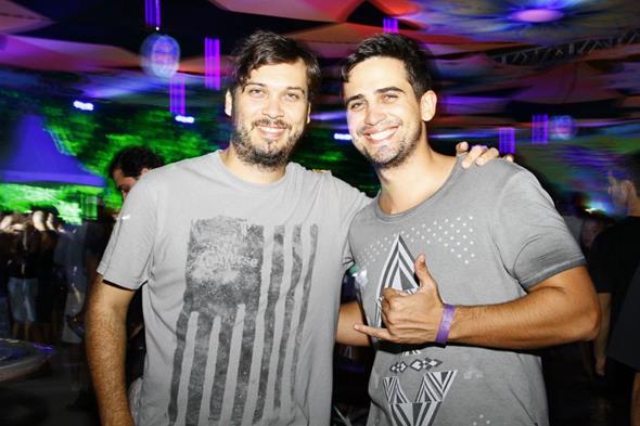 Romero Bivar e  Rodrigo Ilino - Crédito: Duda Carvalho/Divulgação