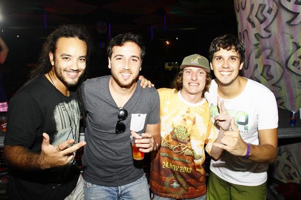 Toy Machine, Omik Mazzodelic e Romulo Vilela - Crédito: Duda Carvalho/Divulgação