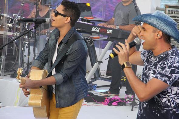 Felipe e Gabriel - Crédito: Diogénes Leite/Divulgação