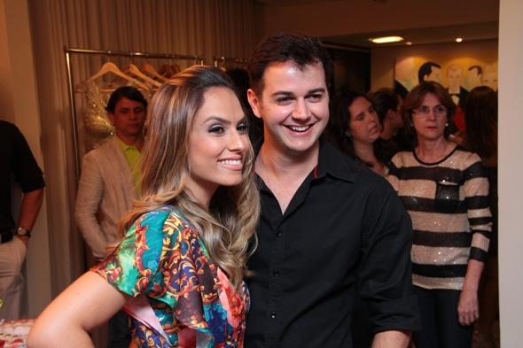 Patricia Bonaldi e Heracliton Diniz, da Empório HD - Crédito: Agenor Lima/Divulgação