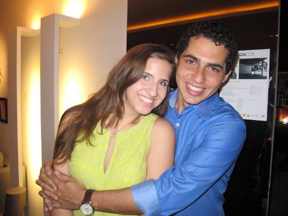 Eduarda Campos e Tomaz Alencar